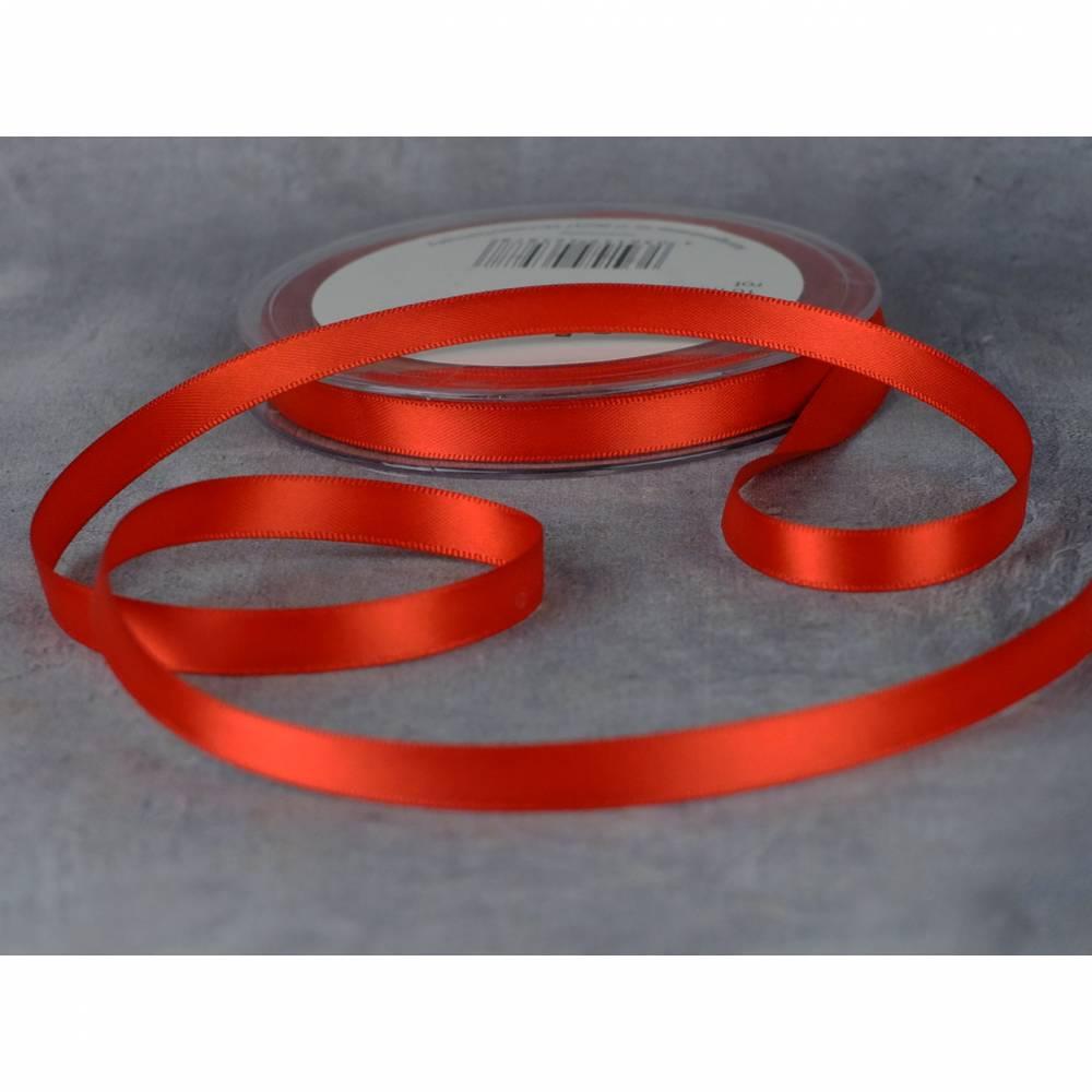 Satinband 3 mm Rot Bild 1