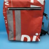 Bannerbag Rucksack - Upcycling Bild 1
