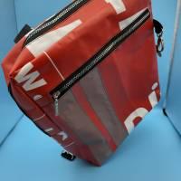 Bannerbag Rucksack - Upcycling Bild 5