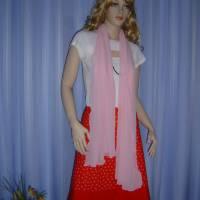 Seidenschal rosa Bild 1