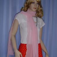 Seidenschal rosa Bild 3