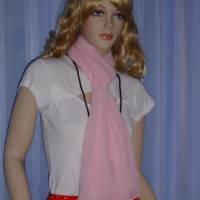 Seidenschal rosa Bild 4