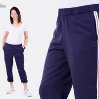 Schnittmuster Damenhose Dana, bequeme Hose mit Stil, Größen: 32 bis 54, für Damen - Kleidung, Papierschnitt  Bild 2