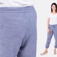 Schnittmuster Damenhose Dana, bequeme Hose mit Stil, Größen: 32 bis 54, für Damen - Kleidung, Papierschnitt  Bild 6