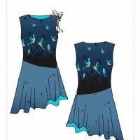 Damenkleid Giselle Gr. 34-54 pdf-Schnittmuster +  Nähanleitung - Jerseykleid - Sommerkleid - Kleid A-Linie Bild 10