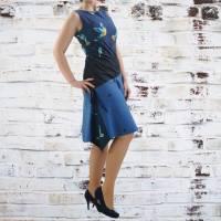 Damenkleid Giselle Gr. 34-54 pdf-Schnittmuster +  Nähanleitung - Jerseykleid - Sommerkleid - Kleid A-Linie Bild 3