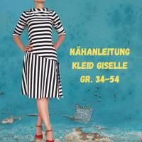 Damenkleid Giselle Gr. 34-54 pdf-Schnittmuster +  Nähanleitung - Jerseykleid - Sommerkleid - Kleid A-Linie Bild 7