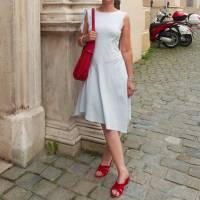 Damenkleid Giselle Gr. 34-54 pdf-Schnittmuster +  Nähanleitung - Jerseykleid - Sommerkleid - Kleid A-Linie Bild 8