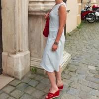 Damenkleid Giselle Gr. 34-54 pdf-Schnittmuster +  Nähanleitung - Jerseykleid - Sommerkleid - Kleid A-Linie Bild 9