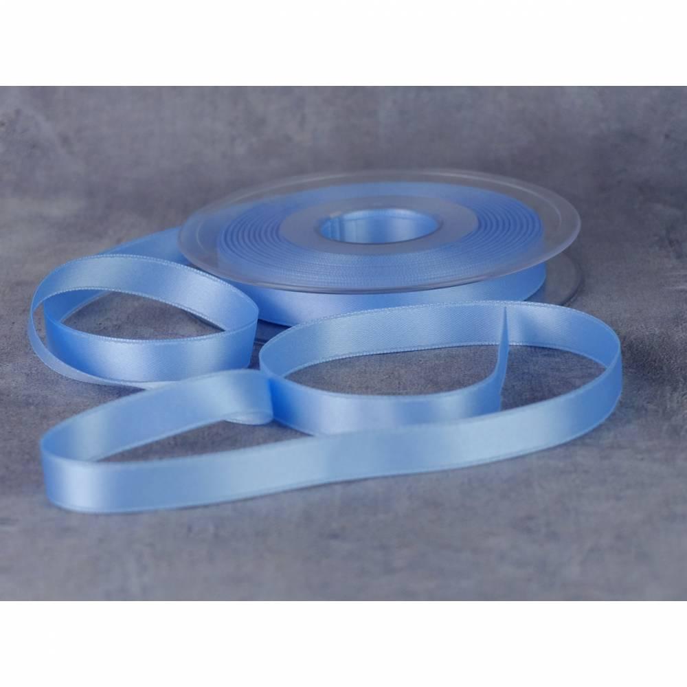 Satinband 6 mm hellblau Bild 1