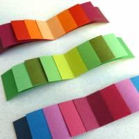 Farbenfrohe Streifen // 3D-Wandbild im Objektrahmen Bild 4