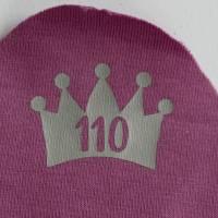 Größenetiketten zum Aufbügeln Kinderkleidung selbst genäht 10er, 20er Set Bild 4
