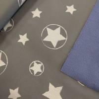 Softshell Reflection Sterne grau für Weltentdecker... Bild 2