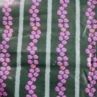 Vintage Vorhang beschichteter Stoff Girlande von Tea Ernst Bild 4