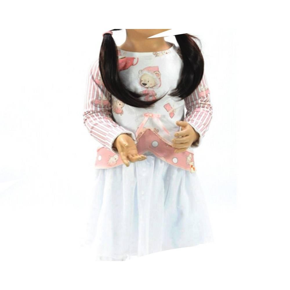 Raglanshirt + Tüllrock Elfie Gr. 80 - 140 Papierschnittmuster + Nähanleitung - Shirt aus Jersey für Nähanfänger  Bild 1