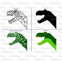 Plotterdatei geometric T-Rex Serie *Kombipack* Bild 7
