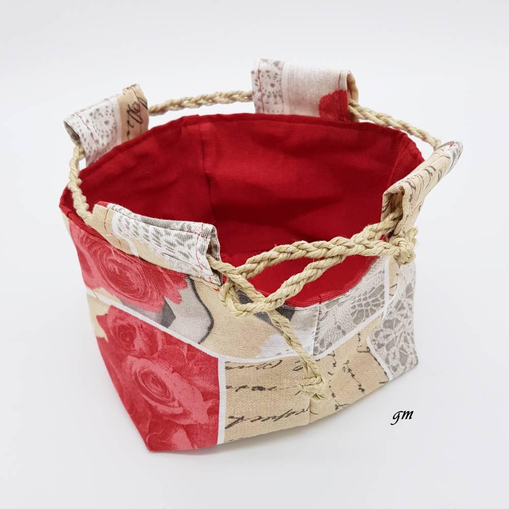 traditionelle japanische Reistasche, Projekttasche, Unikat, Aufbewahrungstasche, Utensilio, Osterkorb, Osternest  Bild 1
