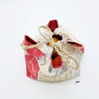 traditionelle japanische Reistasche, Projekttasche, Unikat, Aufbewahrungstasche, Utensilio, Osterkorb, Osternest  Bild 4