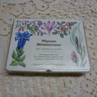 Pflanzen Mitteleuropas - Kartenspiel aus der DDR Bild 2