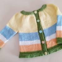 Babygarnitur Größe 52/56 aus Baumwolle Bild 3