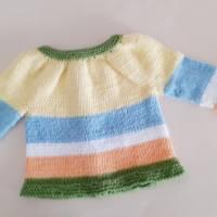 Babygarnitur Größe 52/56 aus Baumwolle Bild 4