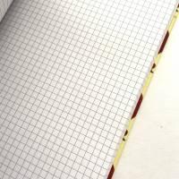 """Notizbuch """"The Best Teacher/Yellow"""" A5 stoffbezogen Lehrerin Lehrer Geschenkidee Geschenk Dankeschön Abschied Bild 6"""