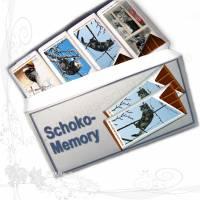 Außergewöhnliches Memory-Spiel aus Schokolade *Individuell* mit Ihren Motiven, keine Versandkosten Bild 1