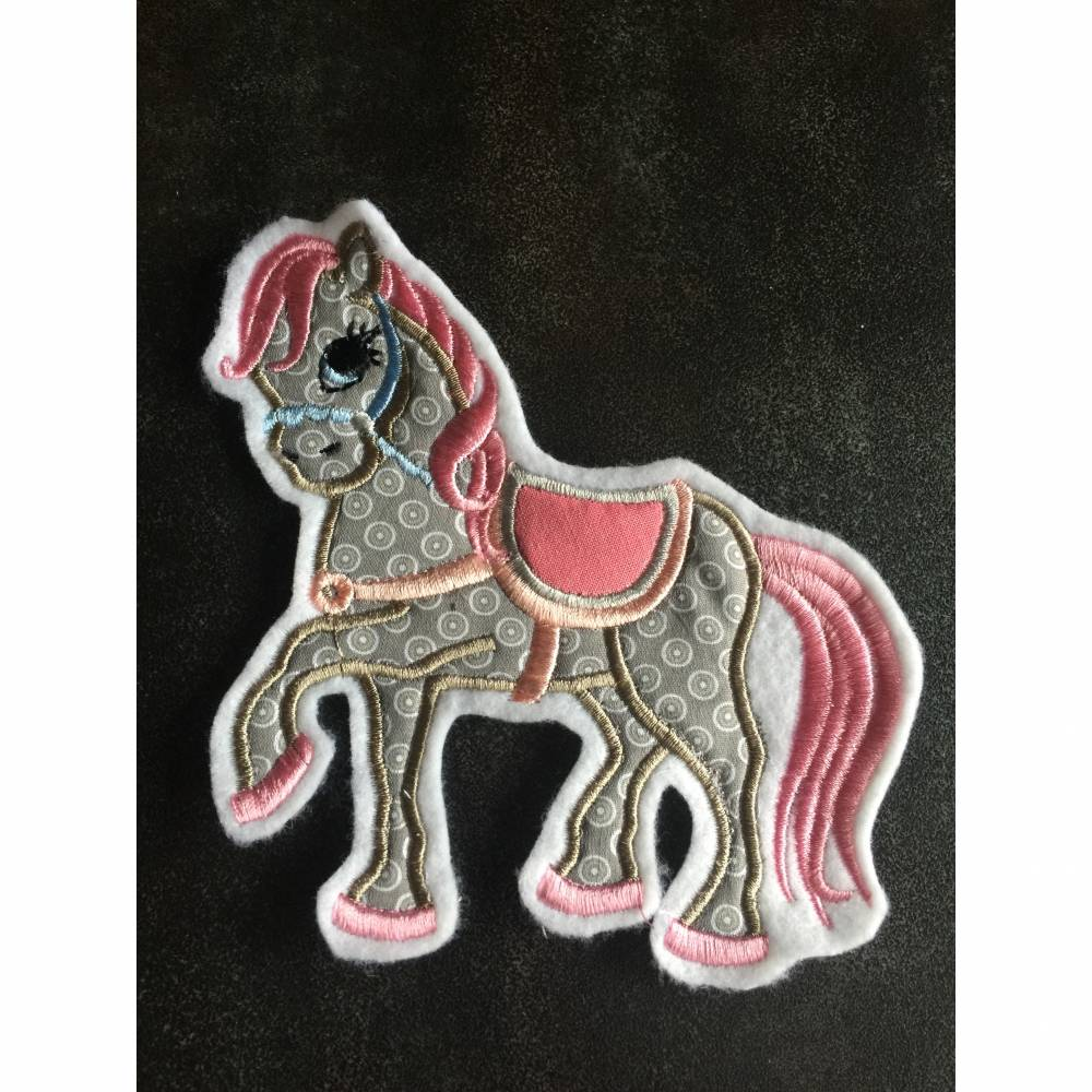 Pferde Applikation Bild 1