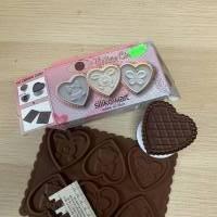 """Schokoladenform """"Ostern"""" mit passenden Ausstecher in Herzform Bild 1"""