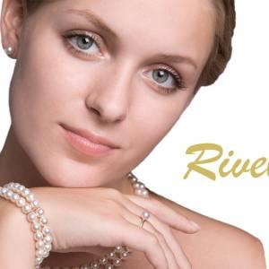 Y-Kette Perlen weiß creme, Silber 925, Swarovski Steine, Schmucketui, Perlenkette, Hochzeit Schmuck, Halskette Perlen Bild 9