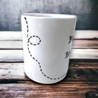 Tasse, Bester Bruder, Kaffee, 350ml, Keramik handbemalt Bild 2