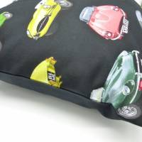 Kissen Oldtimer Jaguar e type, Geschenk Valentinstag, Unikat hessmade Bild 4