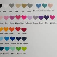 Namenetiketten zum Aufbügel Set Etiketten Name verschieden Motive/Farben Bild 3