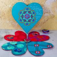 Valentinstag Freebie Herz Untersetzer Stickdatei ITH-Stickdatei ab 160 x 260 und 165 x 260 cm er Rahmen Bild 1
