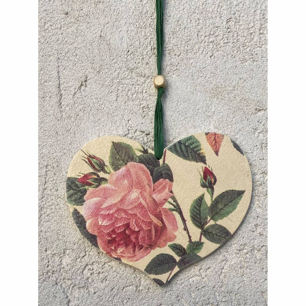 Herz - klein Rose Bild 1