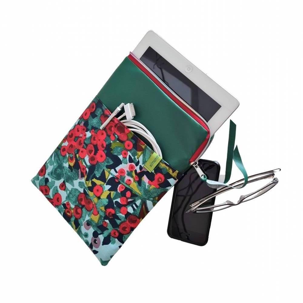 E-Book-Hülle * Tablet-Tasche mit weiter Öffnung * E-Reader-Tasche * Büchertasche * Projekttasche Bild 1