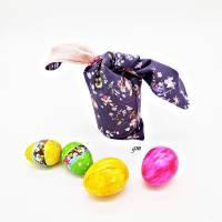Osterhasen-Beutel, verpacke die kleinen Geschenke nachhaltig in einem Stoffbeutel, süßer Hasen-Stoffbeutel Bild 3