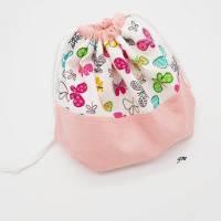 Stofftasche für Osternest und Ostergeschenke, Stoffbeutel mit Zugband nicht nur für Ostern, Brötchenbeutel, Obstbeutel,  Bild 2