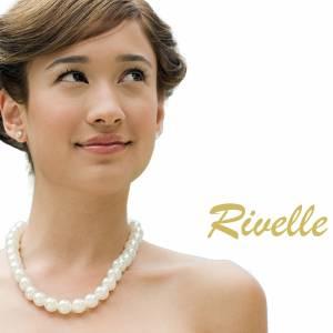 Halskette mit Anhängern, 925 Silber, Perlenkette creme weiß, Kette kleine Perlen, Brautschmuck, Perlen Collier Bild 9