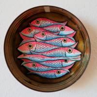 Ölsardinenfrosch, Frosch, Bild, Konservendose, Fischdose, Sardinen, Fische Bild, Frosch Bild, Froschbild, alte Blechdose, Froschkönig Bild 1