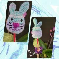 """Funny Bunny / lustige Häschen / Dekoration zu Ostern """"am Spieß"""", verschiedene Designs Bild 5"""