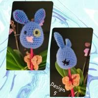 """Funny Bunny / lustige Häschen / Dekoration zu Ostern """"am Spieß"""", verschiedene Designs Bild 6"""