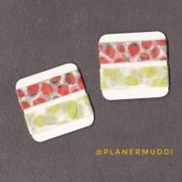 2 Washi-Samples Limette & Erdbeere Bild 1