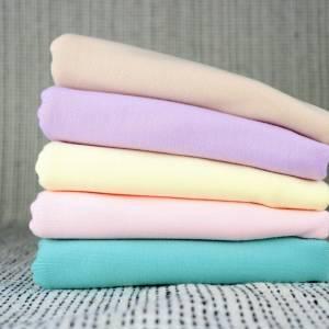 Weicher Jersey-Stoff in Pastell-Farben, Baumwolljersey, Sommer-Jersey, Jersey Uni Frühling Bild 1