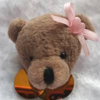 Wunderschöne Brosche Handarbeit Teddybär  Bild 1