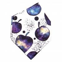 """Überzug für FFP2 Maske """"Galaktische Äpfel"""" - einlagig - 100% Baumwolle - Waschbar - Stoffhülle - Stoffüberzug Bild 2"""