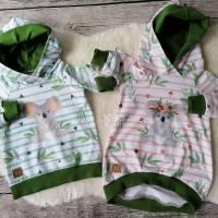 Gr. 86 Hoodie / Pullover / Shirt / Tunika Koala – Mädchen (&Jungs) Zwillinge? Bild 3