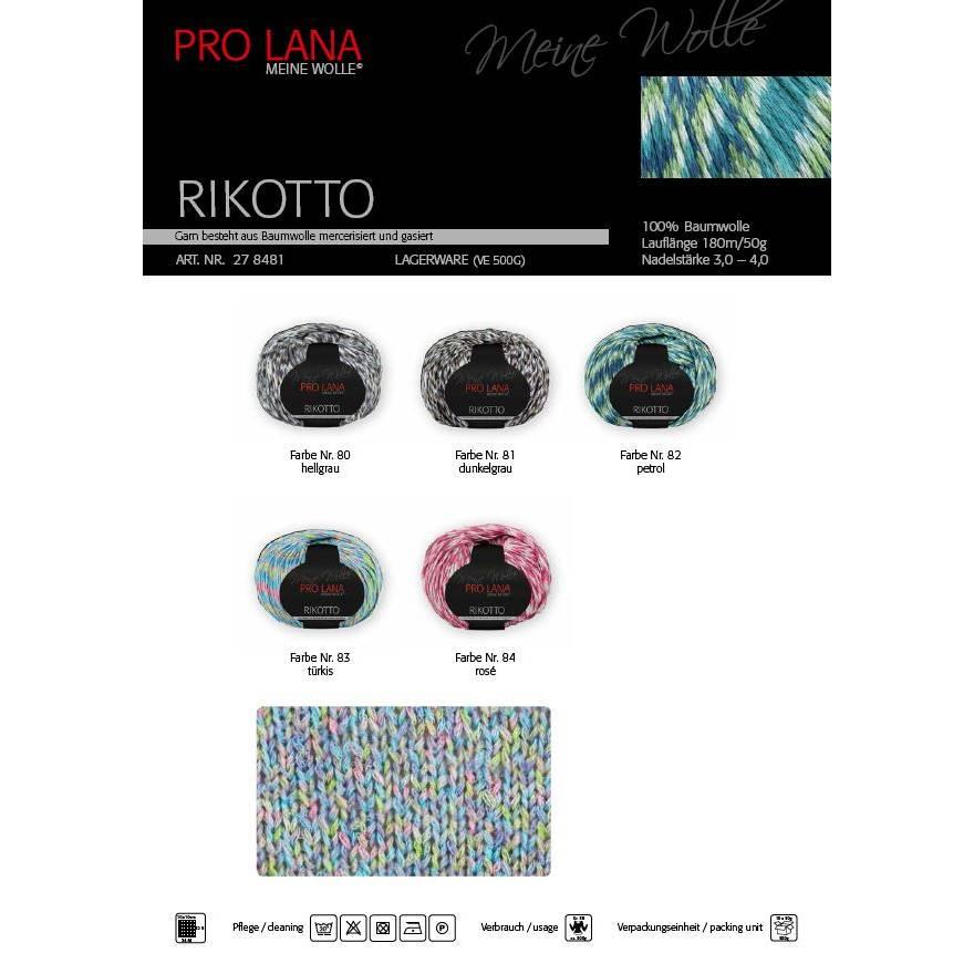 Pro Lana Rikotto 100 % Baumwolle Bild 1