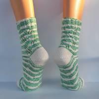 Socken Damensocken handgestrickt Größe 38/39 Bild 4