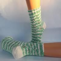 Socken Damensocken handgestrickt Größe 38/39 Bild 6